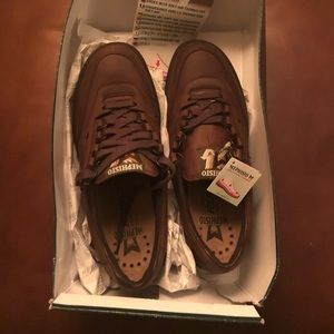 Mephisto Men's NEW Walking Shoe Brown Leather -8.5
